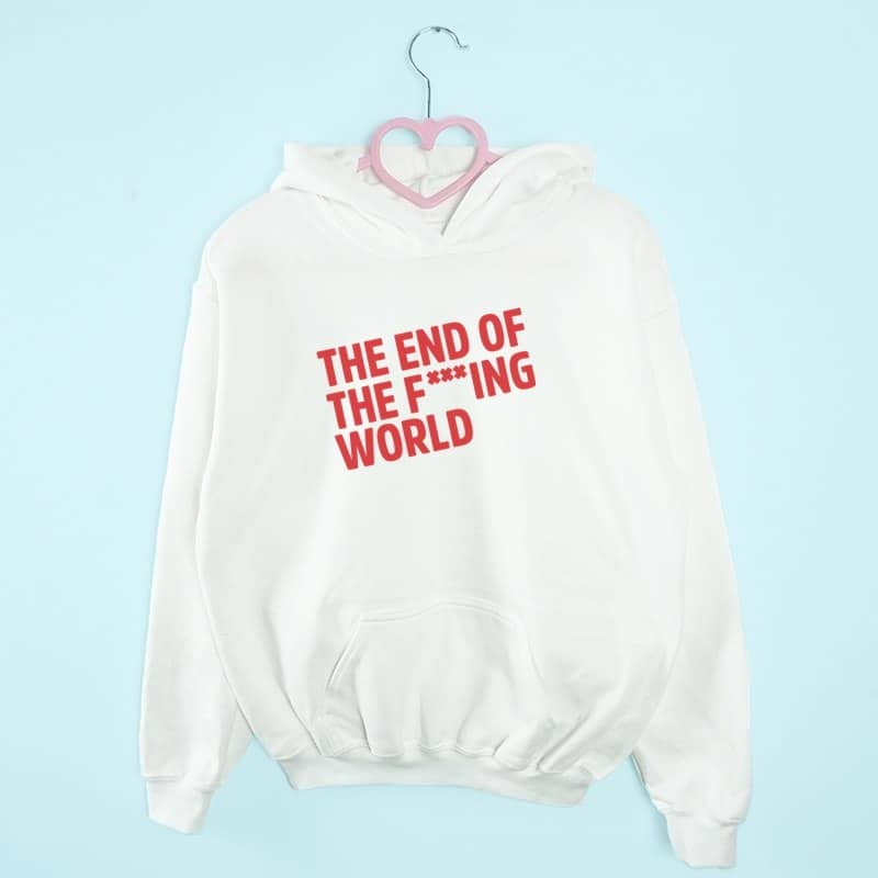 bluza z kapturem THE END OF F***ING WORLD