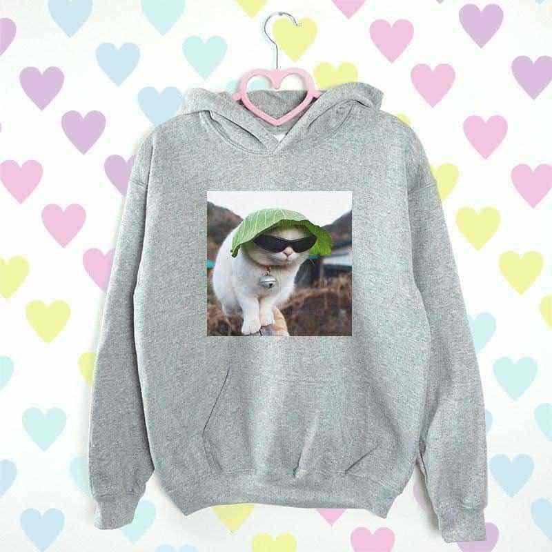 bluza z kapturem CAT MOOD