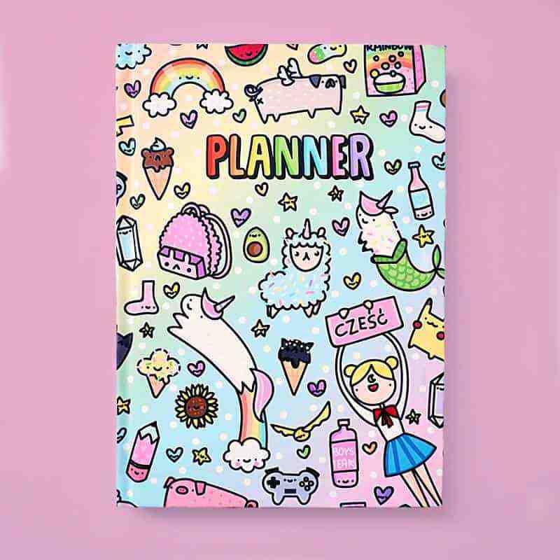 TĘCZOWY planner