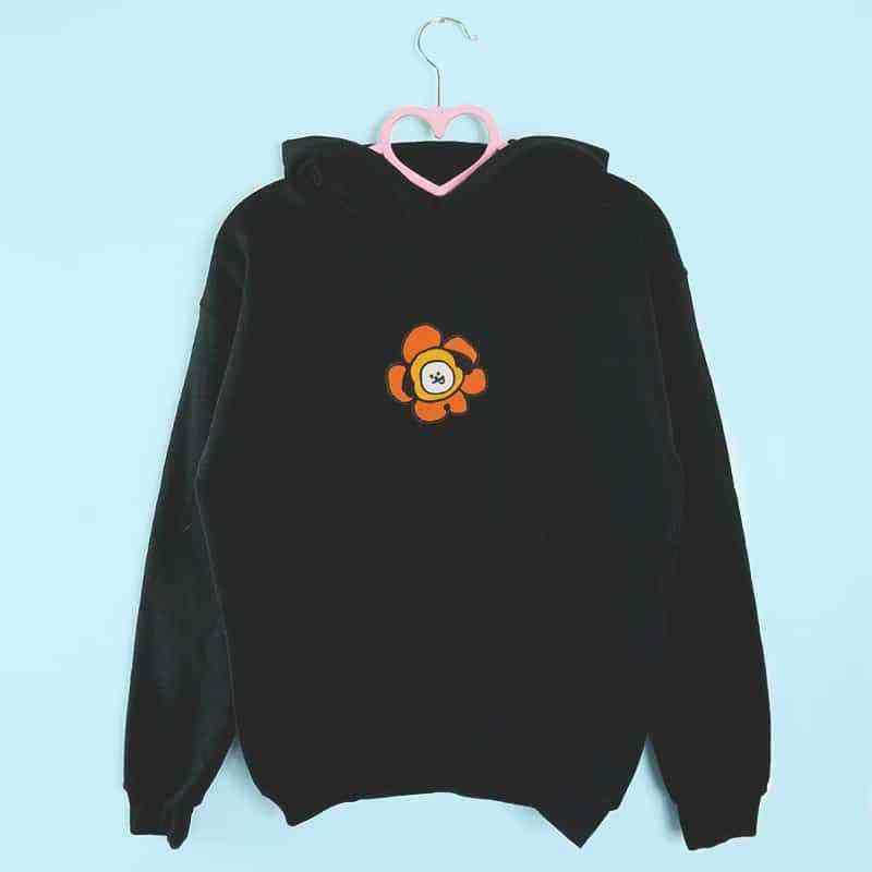 bluza z kapturem CHIMMY FLOWER