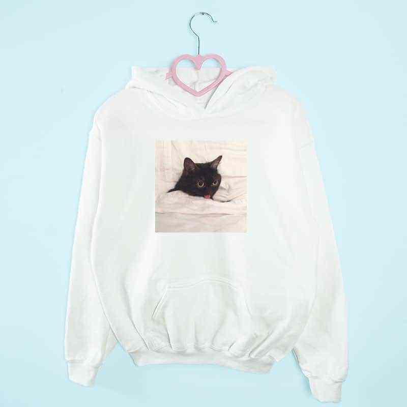 bluza z kapturem MONDAY CAT