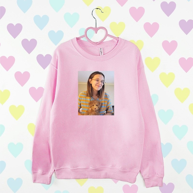 bluza MILLIE BOBBY BROWN różowa