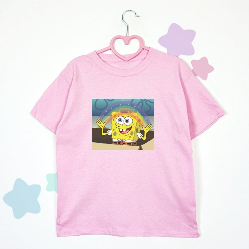t-shirt SPONGEBOB RAINBOW