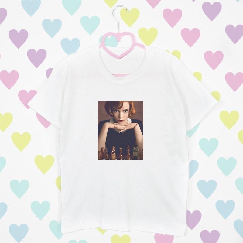 t shirt bialy serca
