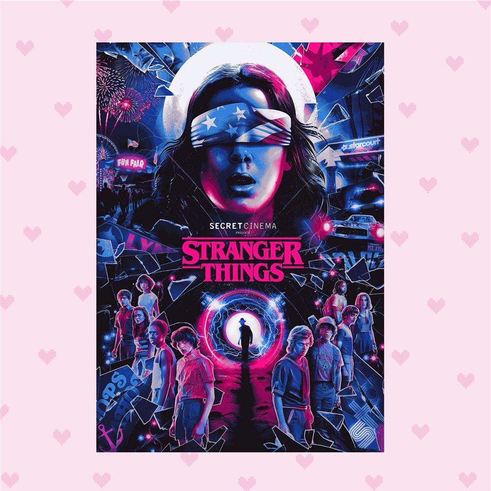 plakat stranger things